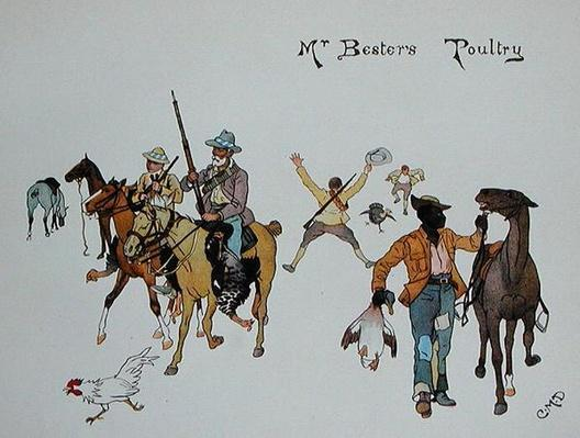 Mr Bester's Poultry, from 'The Leaguer of Ladysmith', 1900