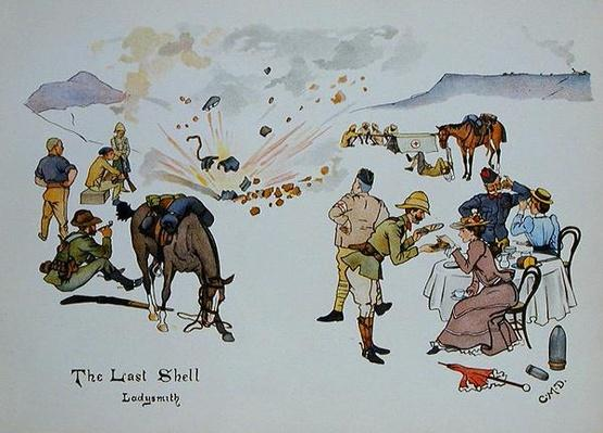 The Last Shell, Ladysmith, from 'The Leaguer of Ladysmith', 1900