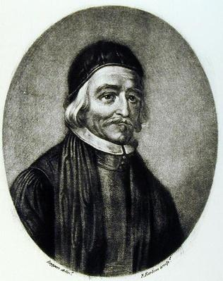 Portrait of Dr Thomas Bailey, engraved by Richard Earlom