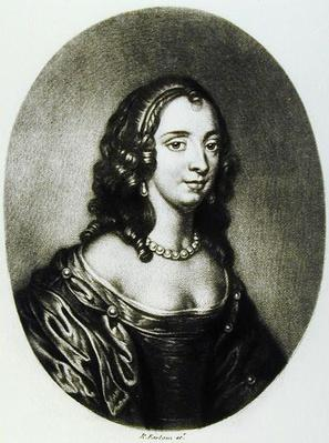 Portrait of Anne Clarges, Duchess of Albermarle, engraved by Richard Earlom