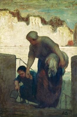 The Washerwoman, c.1860-61