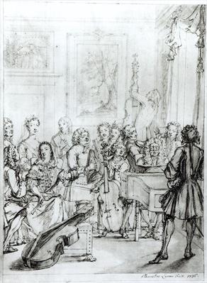 Concert at Montague House, 1736
