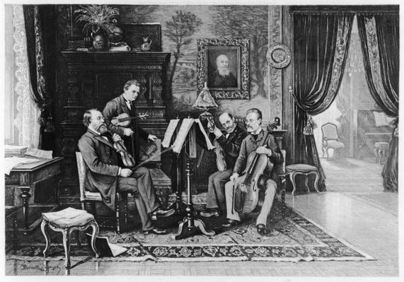 The String Quartet