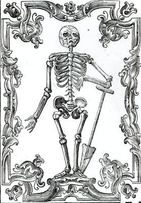 Skeleton with a Shovel