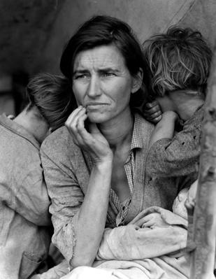 Woman With Children In A Tent | Ken Burns: The Dust Bowl