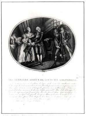 The Last Goodbyes of Louis XVI