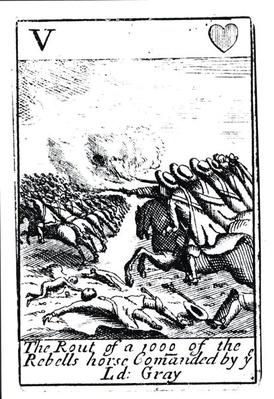 The Rout of 1000 of the Rebels at the Battle of Sedgemoor, 6th July 1685