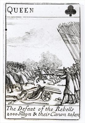 The Defeat of the Rebels at the Battle of Sedgemoor, 6th July 1685