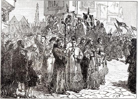 The Pilgrimage of Grace in 1536
