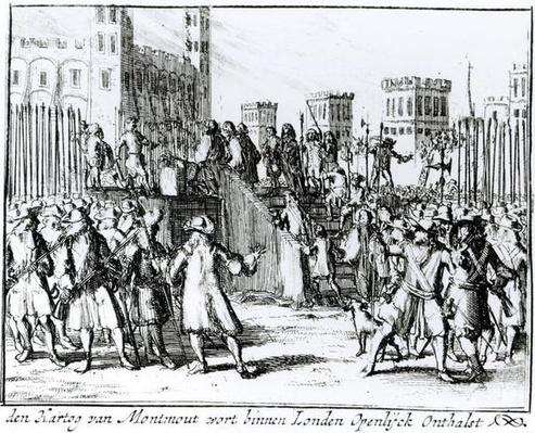 The Execution of the Duke of Monmouth and Buccleuch