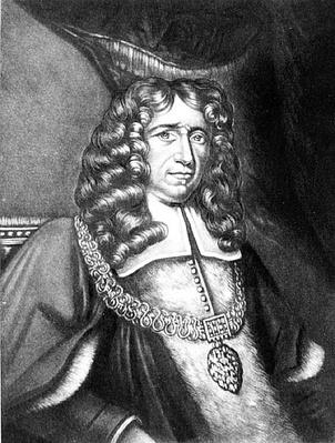 Portrait of Sir Richard Chiverton, Lord Mayor of London, engraved by Richard Earlom