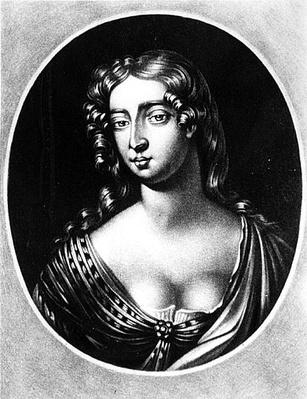 Portrait of Madam Mary Davis, engraved by Richard Earlom