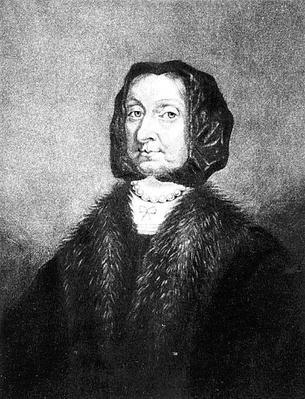 Portrait of Elizabeth Cromwell, engraved by Richard Earlom