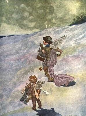 Winter, from The Seasons commissioned for the 1920 Pears Annual