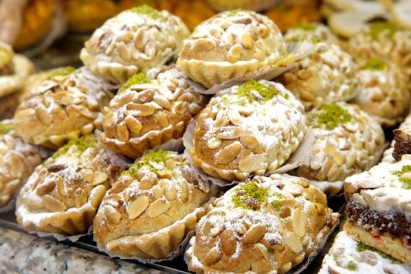 Turkish Pastries in An Istanbul Patisserie Window | Earth's Resources