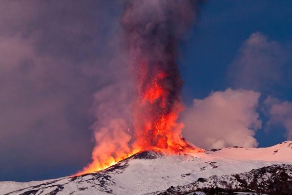 Mount Etna at Winter | Earth's Surface