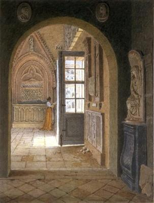 A Room in the Convent of the Petits Augustins