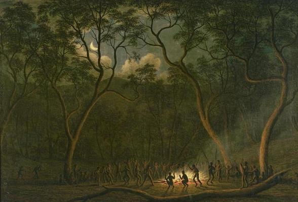 Aboriginal Coroboree in Van Diemen's Land