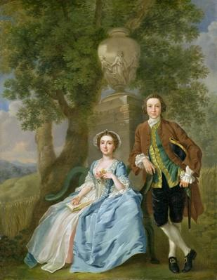 Portrait of George and Margaret Rogers, c.1748-50