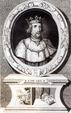 Portrait of King Edward II