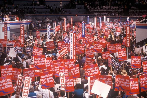 Family Health Care Advocates at the DNC | U.S. Presidential Elections: 1992