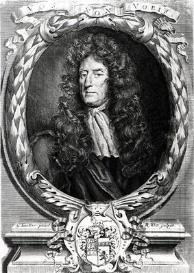 Portrait of Sir Roger L'Estrange
