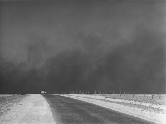 Car Chased by a Dust Storm | Ken Burns: The Dust Bowl