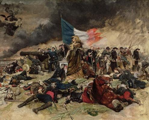 Allegory of the Siege of Paris, 1870