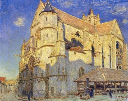 The Church at Moret, Frosty Weather, 1893