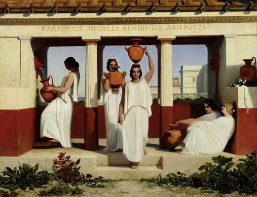 Greek Women at the Fountain, 1841