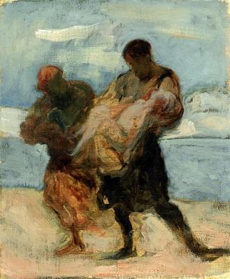 The Rescue, c.1870