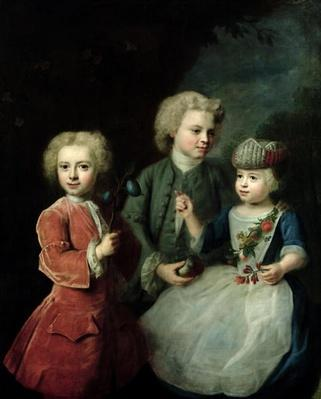 The Children of Councillor Barthold Heinrich Brockes