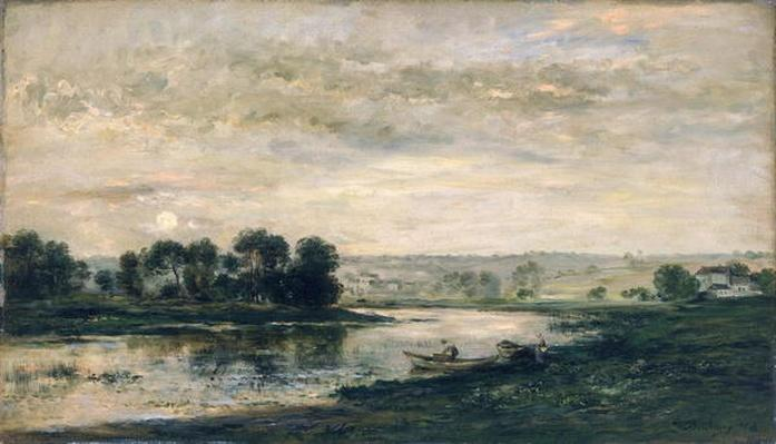 Evening on the Oise, 1872