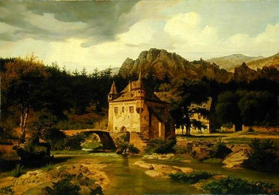 Castle in the Mountains, 1835
