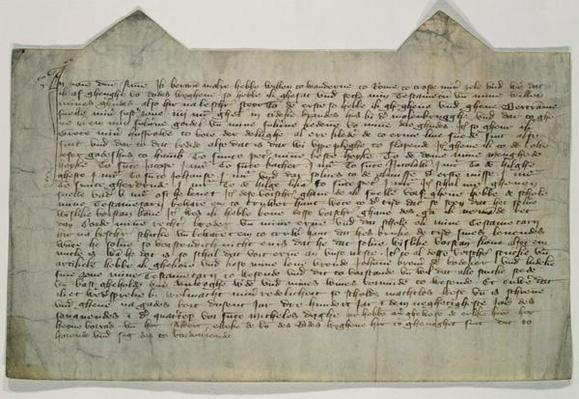 Last will and testament of the artist Master Bertram