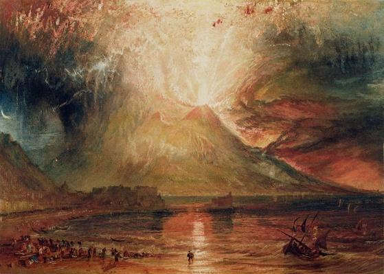 Mount Vesuvius in Eruption, 1817