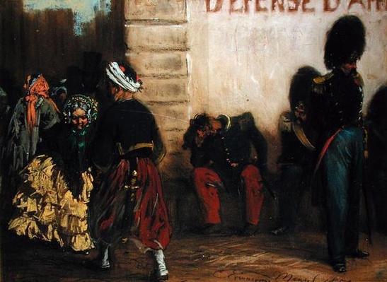Memory of Paris, 1855