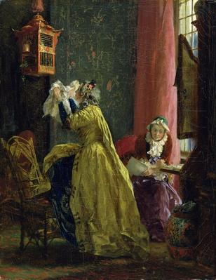 In the Boudoir, 1851