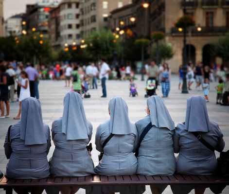 Nun quintet | World Religions: Christianity