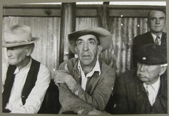 Men at a Stock Auction | Ken Burns: The Dust Bowl