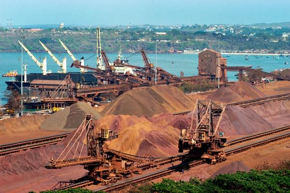 Iron Ore at Vasco in South West Goa, India | Earth's Resources