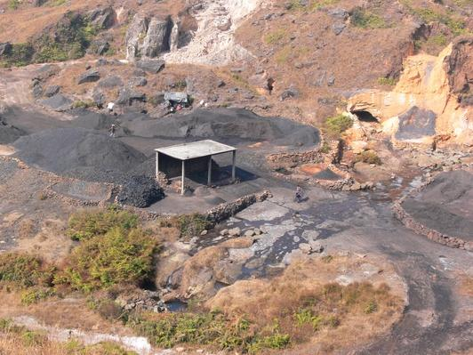 India, Meghalaya State, Khasi Hills, Coal Mining, | Earth's Resources