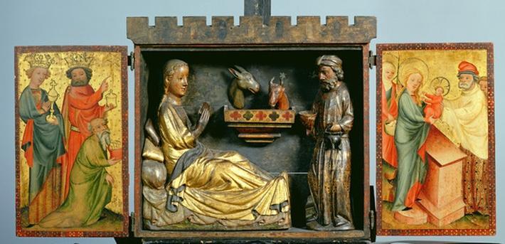 The Harvester Altar, c.1410