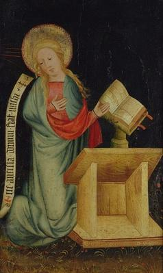 Virgin of the Annunciation, from The Harvester Altar, c.1410