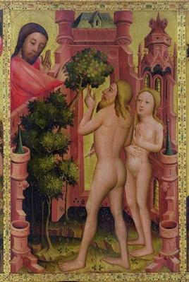 The Tree of Knowledge, detail from the Grabow Altarpiece, 1379-83