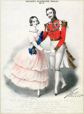 Jullien's Celebrated Polkas No.9: The Queen and Prince Albert's Polka by M. and N. Hanhart