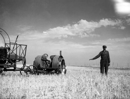 A Farmer In A Field | Ken Burns: The Dust Bowl