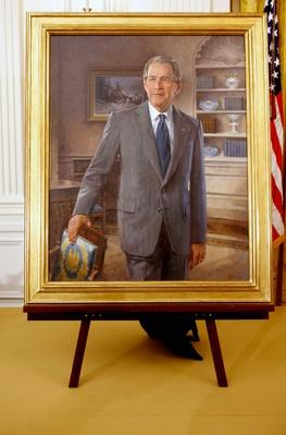 George W. Bush and Laura Bush Attend Unveiling of Portraits | American Presidential Portraits