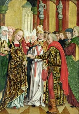 Marriage of the Virgin, from the Dome Altar, 1499