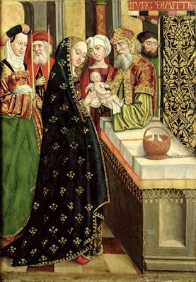 The Presentation in the Temple, from the Dome Altar, 1499